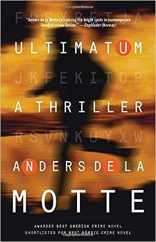 Amazon Ultimatum A Thriller 9781476788098 Anders De La