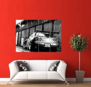 nissan gt r skyline car giant panel poster art print picture pr163 posters prints. Black Bedroom Furniture Sets. Home Design Ideas