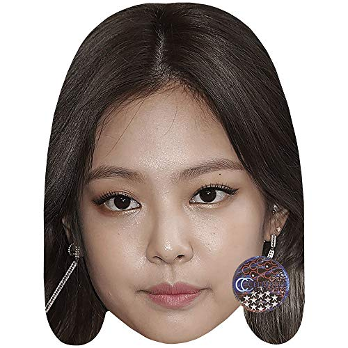 Celebrity Cutouts Jennie (Blackpink) Big Head. Larger Than Life mask.
