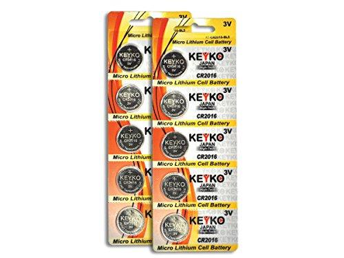 CR2016 Lithium Battery Genuine KEYKO product image