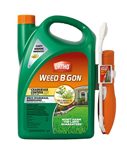 Ortho Weed B Gon Plus Crabgrass Control Ready-To-Use Comfort Wand, 1.1 gallon by Ortho