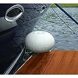 AMRT-1078 * Taylor Made 9'' Dock Wheel Bumper with Corner Bracket - White