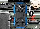 Galaxy S4 Case, Cocomii [HEAVY DUTY] Grenade Case :::NEW::: [ULTRA TITAN ARMOR] Premium Shockproof Kickstand Bumper [MILITARY DEFENDER] Full-body Rugged Dual Layer Cover (Blue)