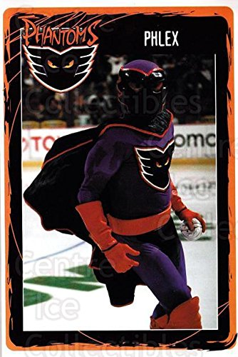 (CI) Mascot Hockey Card 2001-02 Philadelphia Flyers Postcards 28 Mascot