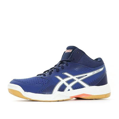 Asics Gel-Task MT, Zapatos de Voleibol para Hombre, Azul (Limogeswhiteastral Aura