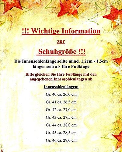 ACO Herren Filz Pantoffeln Hausschuhe Pantoletten Clogs Schwarz 40-46