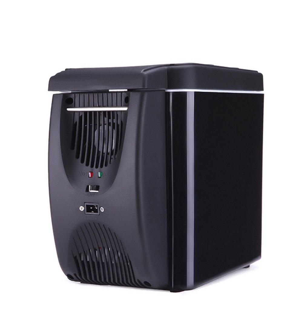 LIQICAI 6L Elektrische Kühlbox Startseite Mini Kühlschrank Wärmekühlen Doppelt Verwenden/12V DC (Auto)/220V AC (Zuhause)