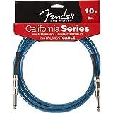 Fender 10 Feet California Instrument Cable - Lake Placid Blue
