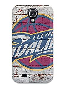 Galaxy High Quality Tpu Case/ Nba Cleveland Cavaliers Logo ILALhup9737rgFob Case Cover For Galaxy S4