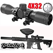 Trinity Supply 4x32 Rifle Scope for Paintball Guns, Paintball Gun Scope, Paintball Gun Sight, Bt Omega Paintball Gun Scope, Bt Paintball Gun Scope, Tippmann Gun Scope, , Tippmann Paintball, Bt Paintball, Rap4 Paintball, Woodsball, Tactical Paintball,tippmann X7, Tippmmann X-7, Tippmann Phenom, Tippmann Cronus, Bt Dfender, Bt Omega, Bt Combat, Bt4, Bt Slice, Bt Delta, Bt Delta Elite, Us Army Carve One, Us Army Alpha Black, Us Army Project Salvo,dye Dam, Gog G1, Smart Parts Sp1 Paintball Gun, Fast Shipping