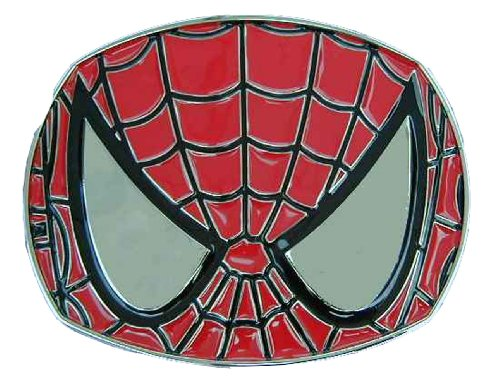 Spiderman mask design Novelty Belt Buckle