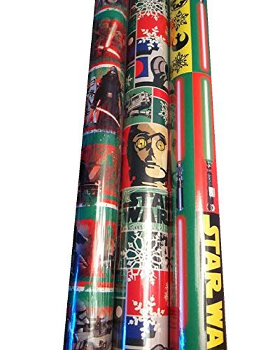 UPC 888604180515, Gift Wrap ~ STAR WARS ~ Wrapping Paper - 1 ROLL (ALL THREE)