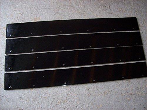 Wacker Neuson Wacker RD11A, RD12, RD16 Vibratory Asphalt Roller Scraper Set of 4