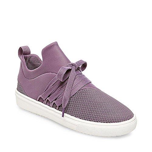 Steve Madden Womens Lancer Fashion Sneaker Viola