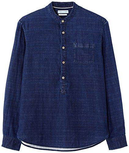 scuro camicia blu blu Gamaodou uomo da da Celio uomo 1Hx8wTqO5