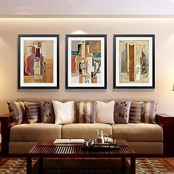 Picasso pinturas abstracto moderno estilo comedor dormitorio sala de ...