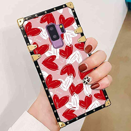 - Bonoma Cover Case Compatible with Galaxy S9 Plus (2018) [6.2inch] Heart