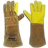 Nwt Gloves 35cm Animal Handling GAUNTLET LEATHER Kevlar DOG CAT BIRD REPTILE
