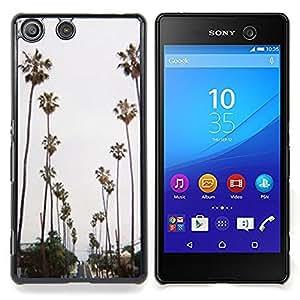 """Planetar ( Árboles de mar de California Valla"""" ) Sony Xperia M5 E5603 E5606 E5653 Fundas Cover Cubre Hard Case Cover"""