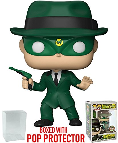 (Funko Pop! Specialty Series: The Green Hornet - 1960 Green Hornet Vinyl Figure (Bundled with Pop Box Protector)