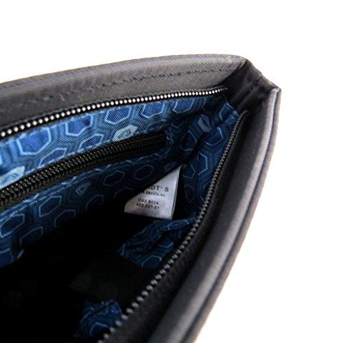 24x21x5 bandoulière compartiment cm Davidt's 5 1 'Indispensable' Sac noir N6579 1ExqxT0A