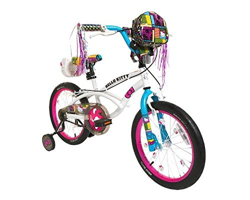 Best Dynacraft 8093-38ZTJ Girls Hello Kitty Bike, White/Pink/Blue, 18-Inch (online)