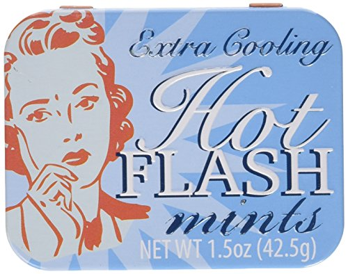 Hot Flash Mints Extra Cooling Tin Fun Gag - Women Hot Boston