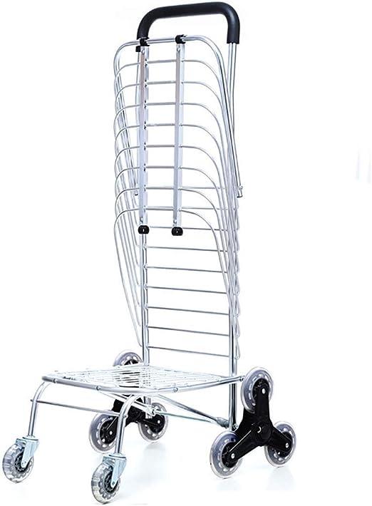 Party Girls S Carrito de la Compra Plegable de Aluminio, para escaleras, 8 carritos pequeños Redondos: Amazon.es: Hogar