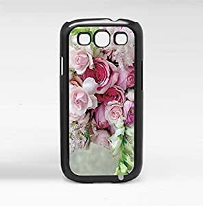 Pink Bouquet of Flowers Hard Snap on Phone Case (Galaxy s3 III)