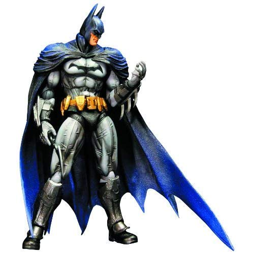 Square Enix Batman Arkham City: Play Arts Kai Batman Action Figure (Catwoman Arkham City)