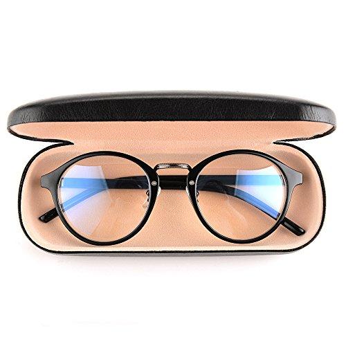 Gudzws Anti Blue Light Rays Glasses Retro Round Relieve Eyes Fatigue Unisex by Gudzws