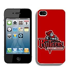 NCAA Rutgers Scarlet Knights For Ipod Touch 5 Case Cover 2014 Style
