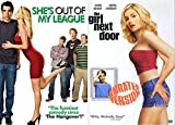 Popular Girl, Nerdy Boy Teen Comedy 2 Movie DVD Bundle - She's Out Of My League & The Girl Next Door