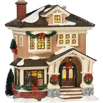 department 56 snow village christmas at grandmas lit house
