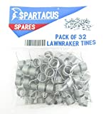 32 x Spartacus Replacement Lawn Raker Scarifier Tines Tynes For Atco F016T47920