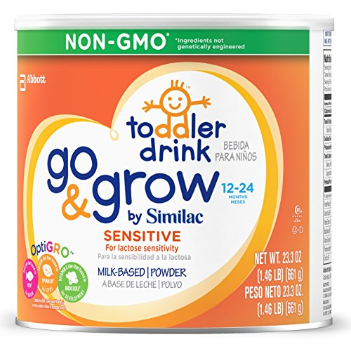 Go & Grow By Similac Sensitive Milk Based Toddler Drink, For Lactose Sensitivity, Large Size Powder, 23.2 Ounces (Pack of 6) by Similac (Image #6)