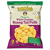 Annie's Organic White Cheddar Bunny Tail Baked Corn Puffs, 4.3oz , one bag