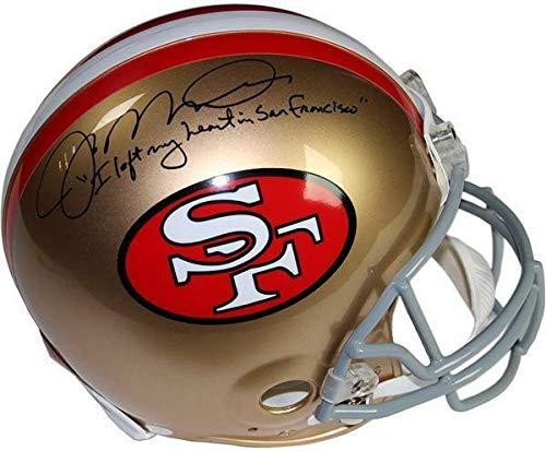 - Joe Montana 49ers Autographed Signed Left My Heart San Francisco Pro Helmet Signature Steiner