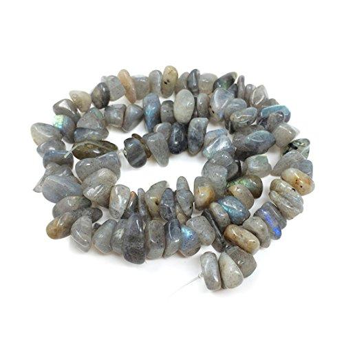 Top Quality Natural Labradorite Gemstone ~7-12mmmm Center Drilled Rondelle Stone Beads 16
