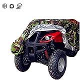 Tokept 190T Camouflage Quad Bike ATV ATC Rain WaterProof Cover XXL Size 88''x39.2''x42.4''