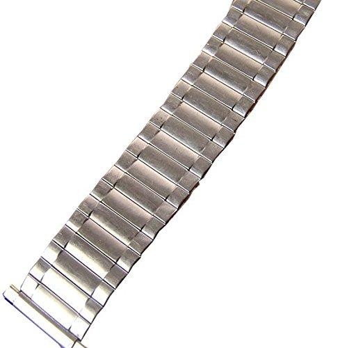 Vintage Mens Speidel SS Metal Expansion Watch Band NOS 16.5 mm (Nos Vintage Steel)
