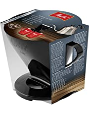 Melitta 6761018 Koffiehouder voor filterzakken, koffiefilter 1x4 standaard, kunststof, zwart, 217564