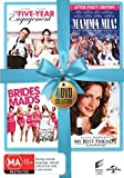 Five-Year Engagement / Mamma Mia! / Bridesmaids / My Best Friend's Wedding DVD