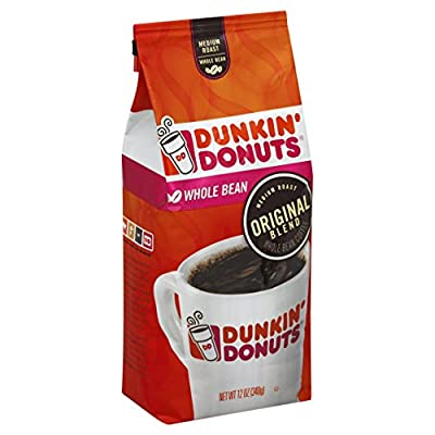 Dunkin' Donuts Original Blend Medium Roast Whole Bean Coffee from Dunkin'