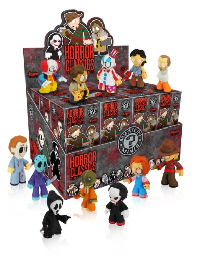 Funko Horror Collection PDQ Mystery Mini Figure Display, 24-Piece -
