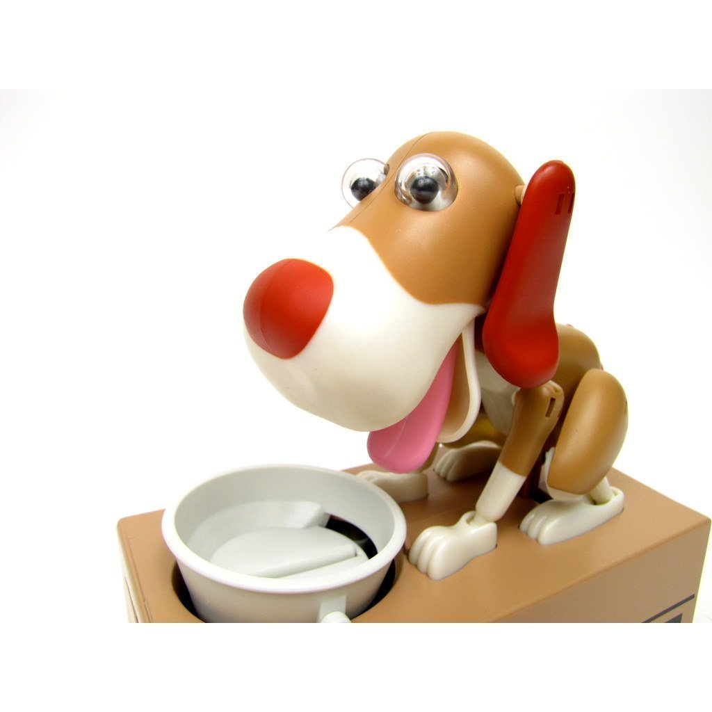 Mi perro Eshowy Hucha - moneda robóticos comer masticaste mysticals dinero caja de ahorro