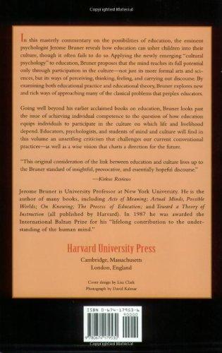 bruner educational philosophy