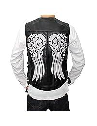 The Walking Dead Angel Daryl Dixon Leather Vest