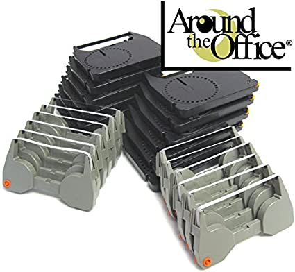 Combo Pack of 6 Typewriter Ribbons /& 6 Correction Lift Off Tapes for IBM Lexmark Wheelwriter 1000 Typewriter by Around The Office