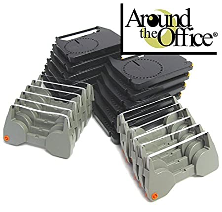 Combo Pack of 6 Typewriter Ribbons /& 6 Correction Lift off Tapes for IBM Lexmark Wheelwriter Personal Typewriter by Around The Office